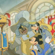 Three Musketeers Development Painting - ID: octmusketeers18271 Walt Disney