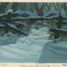 101 Dalmatians Production Background - ID: augdalmatians19399 Walt Disney