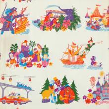 Disneyland Paper Souvenir Shopping Bag - ID: augdisneyana19119 Disneyana