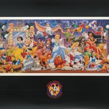 1998 Disneyana Convention Poster - ID: augdisneyana19230 Disneyana