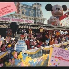 Mickey's Birthdayland Disney World Promo - ID: augdisneyworld19124 Disneyana