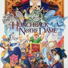 The Hunchback of Notre Dame One Sheet Poster - ID: aughunchback19036 Walt Disney