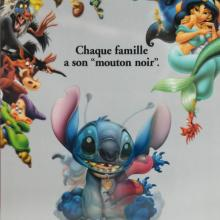 Lilo and Stitch French Lenticular One Sheet Poster - ID: auglilo19173 Walt Disney