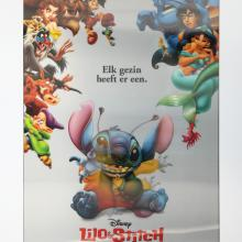 Lilo and Stitch Netherlands Lenticular One Sheet Poster - ID: auglilo19174 Walt Disney