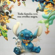 Lilo and Stitch Brazil Lenticular One Sheet Poster - ID: auglilo19175 Walt Disney