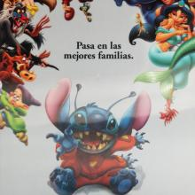 Lilo and Stitch Mexican Lenticular One Sheet Poster - ID: auglilo19176 Walt Disney