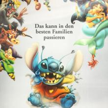 Lilo and Stitch German Lenticular One Sheet Poster - ID: auglilo19177 Walt Disney