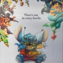 Lilo and Stitch Lenticular One Sheet Poster - ID: auglilo19180 Walt Disney