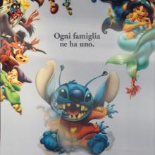 Lilo and Stitch Italian Lenticular One Sheet Poster - ID: auglilo19181 Walt Disney