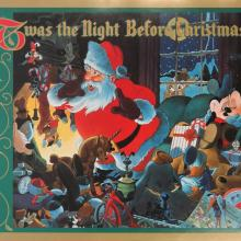 Twas the Night Before Christmas Poster - ID: augmickey19040 Walt Disney