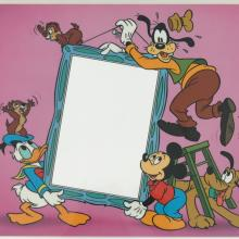 Disney Picture Frame Insert Test Print - ID: augmickey19044 Walt Disney