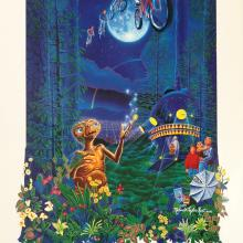 Melanie Taylor Kent Signed E.T. Anniversary Limited Edition - ID: augposter19126 Universal