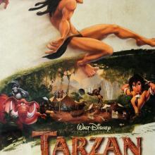 Tarzan One Sheet Poster - ID: augtarzan19151 Walt Disney