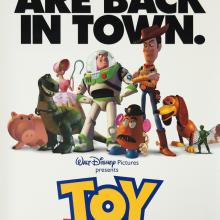 Toy Story One Sheet Poster - ID: augtoystory19191 Pixar