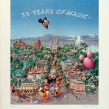 35 Years of Magic Charles Boyer Signed Limited Print - ID: janboyer19334 Disneyana