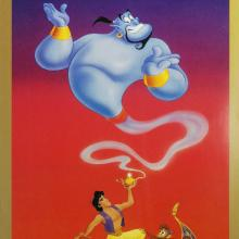 Aladdin Limited Edition Movie Poster - ID: julyaladdin19100a Walt Disney