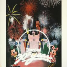 Disneyland 30th Year Charles Boyer Special Edition WED Print - ID: julyboyer19123 Disneyana