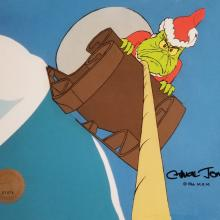 How the Grinch Stole Christmas Production Cel - ID: julygrinch19906 Chuck Jones