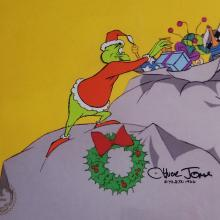 How the Grinch Stole Christmas Production Cel - ID: julygrinch19907 Chuck Jones