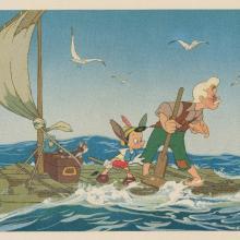 Pinocchio Dye Transfer - ID: julypinocchio19207 Walt Disney