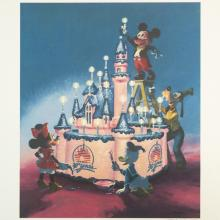 Disneyland 30th Anniversary Limited Edition Print - ID: marboyer19144 Disneyana