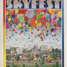 "Disneyland ""Skyfest"" Signed Charles Boyer Sigend Limited Edition - ID: mayboyer19204 Disneyana"
