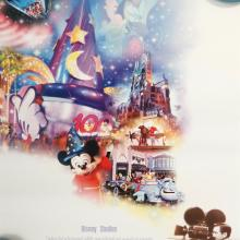 Disney Studios Disney World 100 Years of Magic Celebration Poster - ID: octdisneyana19383 Disneyana
