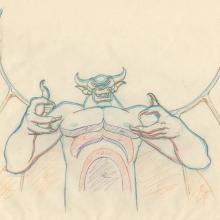 Fantasia Production Drawing - ID: octfantasia19030 Walt Disney
