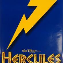 Hercules One-Sheet Blue Movie Poster - ID: octhercules19352 Walt Disney