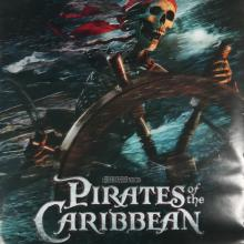 Pirates of the Carribean One-Sheet Movie Poster - ID: octpirates19356 Walt Disney