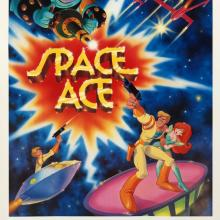 Space Ace One-Sheet Poster - ID: octspaceace19373 Don Bluth
