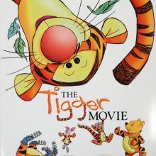 The Tigger Movie One-Sheet Movie Poster - ID: octtigger19358 Walt Disney