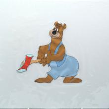Barney Bear Production Cel - ID: MGM148barn3 MGM