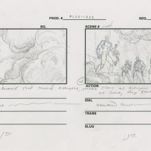 Ultimate Avengers Storyboard Drawing - ID: MLG100072 Marvel