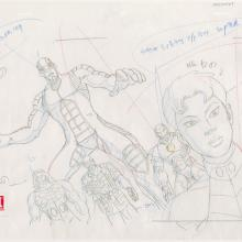 Ultimate Avengers Production Drawing - ID: MLG100267 Marvel