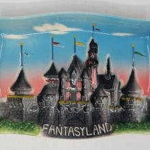 Disneyland Fantasyland 3-D Ceramic Ashtray - ID: aprdisneyland20174 Disneyana