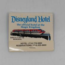 Disneyland Hotel Souvenir Matchbook - ID: aprdisneyland20185 Disneyana