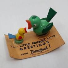 Disneyland Wooden Birds Souvenir - ID: aprdisneyland20219 Disneyana