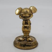 Disneyland Souvenir Mickey Mouse Paperweight - ID: aprdisneyland20298 Disneyana