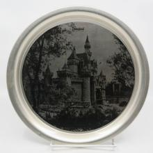 Disneyland Castle Metal Serving Tray - ID: aprdisneyland20320 Disneyana