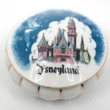 Disneyland Ceramic Keepsake Box- ID: aprdisneyland20382 Disneyana