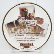 Disneyland 45th Anniversary Souvenir Plate - ID: aprdisneyland20392 Disneyana