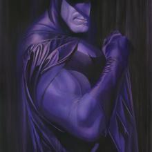 Shadows: Batman Signed Giclee on Paper Print - ID: aprrossAR0006C Alex Ross