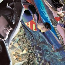 Liberty and Justice: Trinity Mini Canvas Print - ID: aprrossAR0007MC Alex Ross