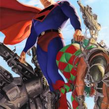 Kingdom Come: Superman Signed Giclee on Paper Print - ID: aprrossAR0030P Alex Ross