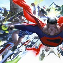 Kingdom Come: Absolute Signed Giclee on Paper Print - ID: aprrossAR0032P Alex Ross