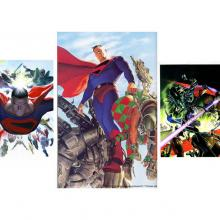 Kingdom Come Set of 3 Signed Giclee on Paper Prints Print - ID: aprrossAR003XPSET Alex Ross