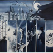 Origins: Batman Exclusive Lithograph Print - ID: aprrossAR0063L Alex Ross