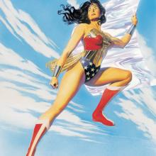 Princess of Amazons Giclee Mini Canvas Print - ID: aprrossAR0065MC Alex Ross