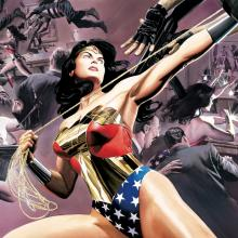 Wonder Woman: Defender of Truth Signed Giclee on Paper Print - ID: aprrossAR0077P Alex Ross